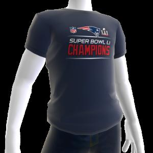 Patriots Super Bowl LI Champions Tee