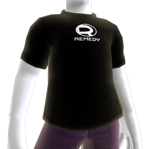 Camisa com o logo do Remedy
