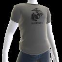 Marines Tee - Gray