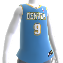 Denver Nuggets NBA 2K13-trøje