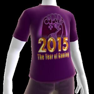 2015 Year of Gaming Purple Tee