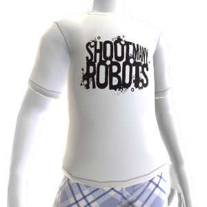 T-shirt Shoot Many Robots