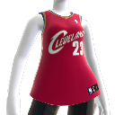 Cleveland Cavaliers NBA2K10-Trikot