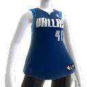 Colete NBA2K10: Dallas Mavericks