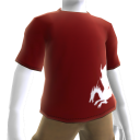 T-shirt sangue del drago rossa