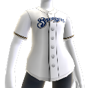 Jersey Milwaukee Brewers MLB2K10