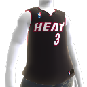 Miami Heat NBA2K10-Trikot