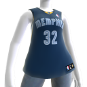 Memphis Grizzlies NBA2K11 Jersey 