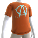 T-shirt met Vault-embleem