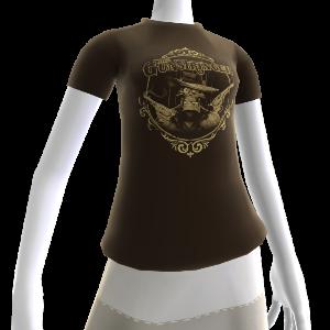 La camicia con le pistole fumanti di Gunstringer