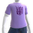 T-shirt avec logo Decepticons violet