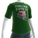 Minecraft T-shirt carrello da miniera