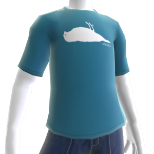 Atticus Silhouette Blue t-shirt