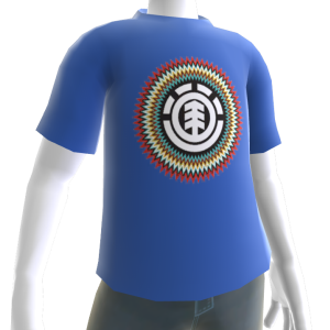 Element Zapped Tee - Blue