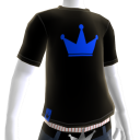 Blue on Black Crown Tee