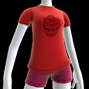 Red Hanuman Shirt