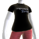 T-shirt con logo Perfect Dark