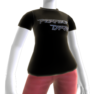 Camiseta con logo Perfect Dark