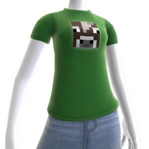 T-shirt met koe