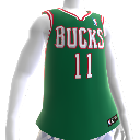 Camiseta NBA 2K13 Milwaukee Bucks