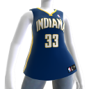 Maillot NBA2K11 Indiana Pacers 