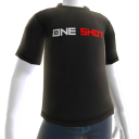 One Shot Black Tee