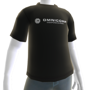 RoboCop OmniCorp Weapons Division Tee - Black
