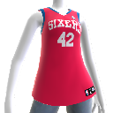 Philadelphia 76ers NBA2K12-Trikot