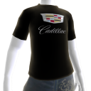 GM Cadillac Black Tee