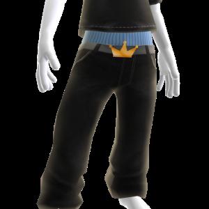 KKZ Black Denim Jeans