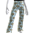 Pantalon relax