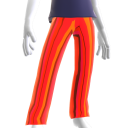 Epic Red Chrome Pants