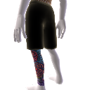 Tatouage jambe et short (gauche)