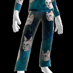 Epic Laser Cat Blue PJ Bottom