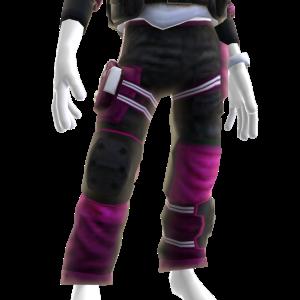 Battle Pants - Pink White