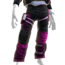 Battle Pants - Pink White