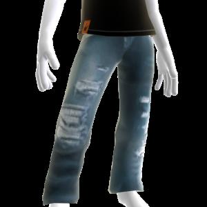 KKZ Distressed Designer Jeans