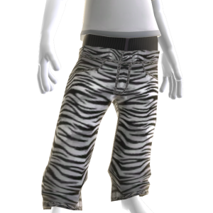 Low Cut Denim - Zebra