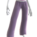 Pantalon de yoga violet