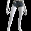 Pantalones muy cortos