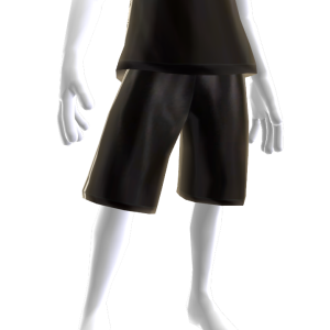 KKZ Black and White Player Shorts