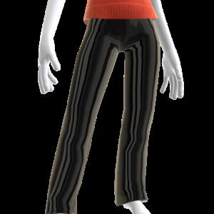Epic Black Chrome Pants