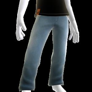 KKZ Blue Denim Designer Jeans