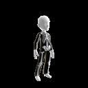 Epic Blk Skeleton Suit