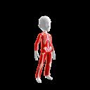 Epic Red Skeleton Suit