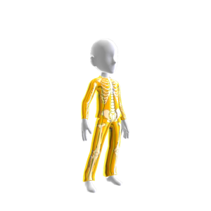 Epic Gold Chrm Skeleton Suit
