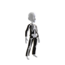 Epic Blk Chrm Skeleton Suit