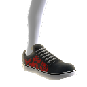 Crimson Omen Skate Shoes