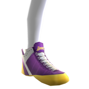 1972-1999 Lakers Away Shoes