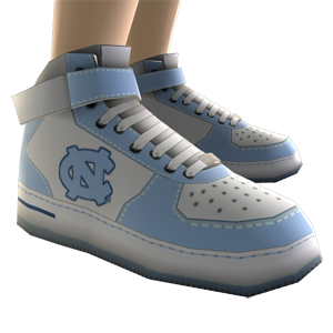 UNC High Top Shoes